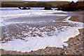 HP6114 : Foamy waves on Burrafirth beach : Week 48