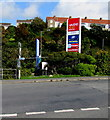 SM9006 : Havens Head Retail Park nameboard, Milford Haven by Jaggery