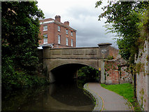 SO8171 : Lower Mitton Bridge in Stourport, Worcestershire by Roger  Kidd