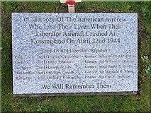 TM5286 : American Aircrew memorial by Helen Steed