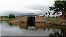 SO8171 : Stourport Lower Basin in Stourport by Roger  Kidd
