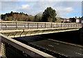 ST3289 : Caerleon Road bridge over the M4 motorway, Newport by Jaggery