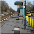 SS5499 : Long wait ahead for the Swansea train, Bynea station platform 1 by Jaggery