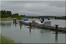 TQ0004 : Moored on the River Arun by N Chadwick
