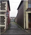 ST0190 : Narrow side road in Trebanog by Jaggery