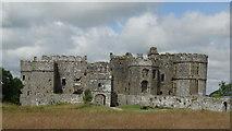 SN0403 : Carew Castle Pembrokeshire by Colin Park