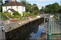 SU8586 : Marlow Lock by N Chadwick