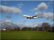 TQ0975 : A flight over Myrtle Avenue by Marathon