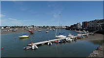 X2693 : Dungarvan, Co Waterford - Boats moored on Colligan River by Colin Park