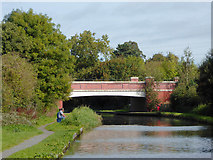 SK0419 :  Trent and Mersey Canal north of Rugeley, Staffordshire by Roger  Kidd