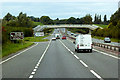 SJ0474 : A55 Junction 27A (St Asaph) by David Dixon