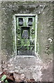 SK5445 : Benchmark on Bulwell Forest Golf Course triangulation pillar by Roger Templeman