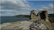 T3294 : Wicklow - ruins of Black Castle by Colin Park