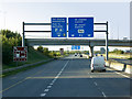 O0242 : Sign Gantry over the M3, North of Clonee by David Dixon