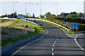 N9551 : M3 Motorway, Exit Sliproad at Junction 6 by David Dixon