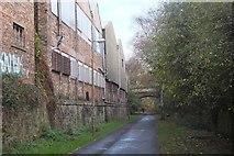 NT2676 : Industrial buildings, Bonnington by Jim Barton