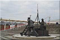 TQ4080 : Landed, Royal Victoria Dock by N Chadwick