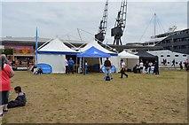 "TQ4080 : Great Swim ""village"", Royal Victoria Dock by N Chadwick"