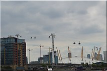 TQ3980 : Emirates cable car by N Chadwick