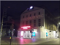 TQ3179 : The Old Vic Theatre, Waterloo Road by Robin Sones
