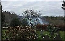 TQ3632 : Churchyard at West Hoathly by Chris Thomas-Atkin