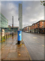 SJ8397 : Manchester's Blue Post Box by David Dixon