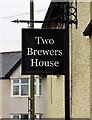 SP7005 : The former Two Brewers (3) - sign, 50 North Street, Thame, Oxon by P L Chadwick