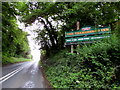 ST9898 : Thameshead Inn name sign facing the A433 by Jaggery