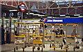 TQ2681 : Paddington station concourse, 1991 by Ben Brooksbank