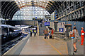 TQ2681 : Paddington station, outward on Platform 8, 2010 by Ben Brooksbank