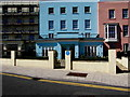 SN1300 : Dylan Thomas blue plaque, The Croft, Tenby by Jaggery