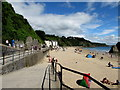 SN1300 : Zigzag ramp to the beach, Tenby by Jaggery