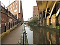 SJ8397 : Rochdale Canal at Castlefield by Gerald England