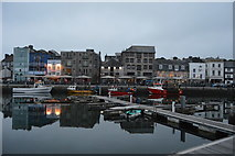 SX4854 : Sutton Harbour and The Barbican by N Chadwick