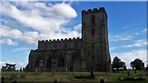 SK4023 : St Mary & St Hardulph, Breedon on the Hill by Chris Brown