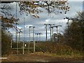 SO5067 : Electricity sub-station by Philip Halling