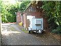 SJ7275 : Telephone Exchange, Plumley by David Hillas