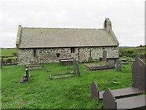 SH3786 : The Church of St Pabo at Llanbabo by Peter Wood