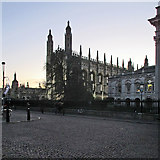 TL4458 : King's College Chapel on a winter afternoon by John Sutton