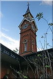 SK5802 : Clock tower at the Counting House pub by Mat Fascione