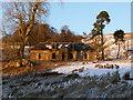 NS6719 : Abandoned farmhouse at High Dalblair by Alan O'Dowd