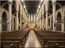 TQ2785 : St Dominic's Priory Church, Belsize Park - East end by John Salmon