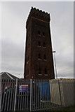 TA2711 : Tower at Lock Head, Grimsby Docks by Ian S