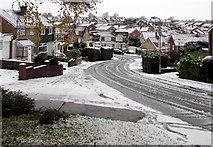 ST3090 : Snow scene, Malpas, Newport by Jaggery