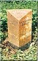 SJ7861 : Old Milepost by J Higgins