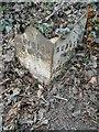 SJ6644 : Old Milepost by J Higgins