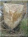 SJ6754 : Old Milepost by JV Nicholls & J Higgins