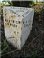 SJ6948 : Old Milepost by J Higgins
