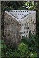 SJ4654 : Old Milepost by JV Nicholls & C Minto