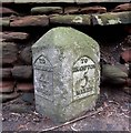 NY4656 : Old Milestone by the A69, Warwick on Eden by CF Smith